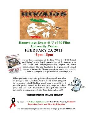 BLACK AIDS AWARENESS CAMPAIGN 2011