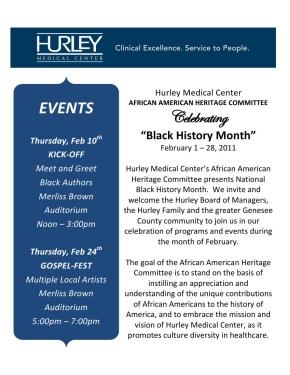 Black History Month Hurley