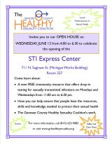 Open House for STI Express Center in Flint, Michigan